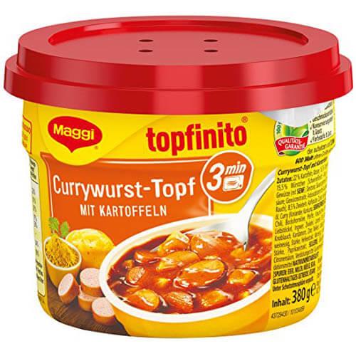 Currywurst-Topf mit Kartoffeln 1