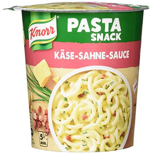 Pasta Snack Käse-Sahne-Sauce 1