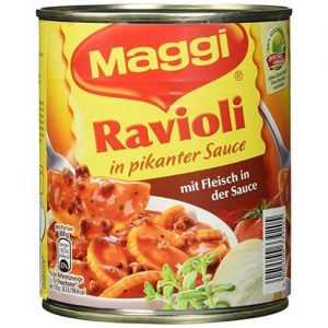 Ravioli in pikanter Sauce 1