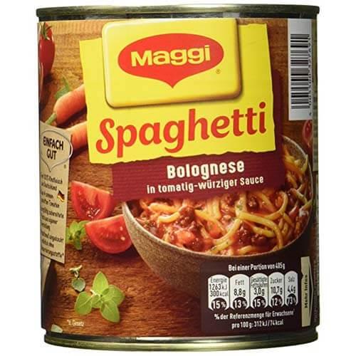 Spaghetti Bolognese mit Fleisch und Tomatensauce 1